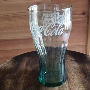 Coca cola glass from cracker barrel
